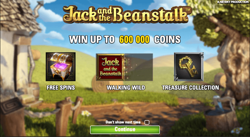 Free Video Slots Jack And The Beanstalk